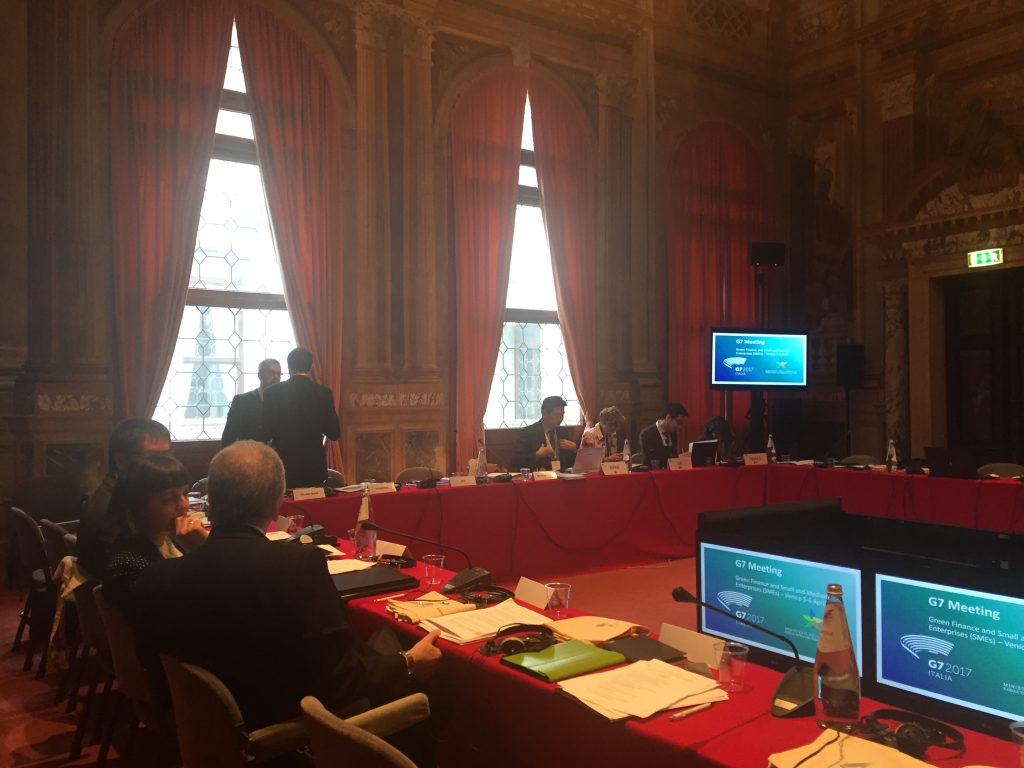 hiveonline at the G7 in Venice 2