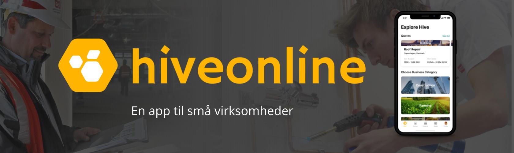 hiveonline en app til smaa virksomheder