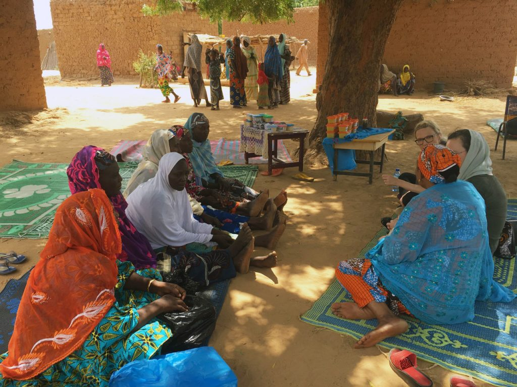 Business Women in Niger Africa