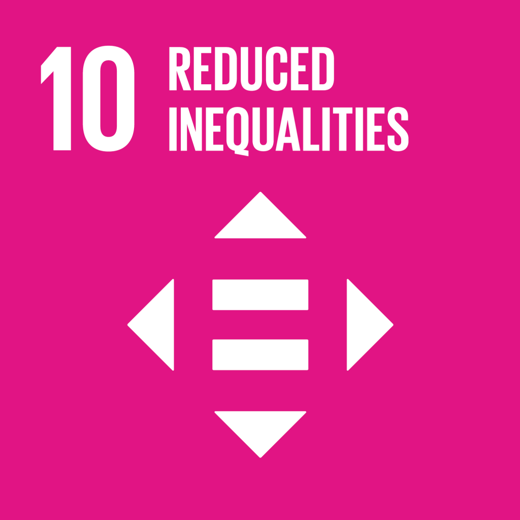 SDG 16 Reduced Inequalities