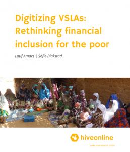 Digitalising VSLAs - rethinking financial inclusion for the poor